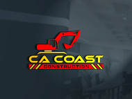 CA Coast Construction Logo - Entry #284