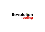 Revolution Roofing Logo - Entry #156
