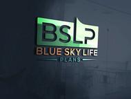 Blue Sky Life Plans Logo - Entry #261