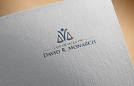 Law Offices of David R. Monarch Logo - Entry #168