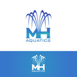 MH Aquatics Logo - Entry #101