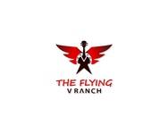 The Flying V Ranch Logo - Entry #23