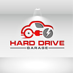 Hard drive garage Logo - Entry #305