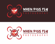 When Pigs Fly Photography Logo - Entry #14