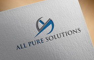 ALL PURE SOLUTIONS Logo - Entry #40
