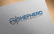 Shepherd Drywall Logo - Entry #331