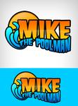 Mike the Poolman  Logo - Entry #98