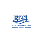 Elite Construction Services or ECS Logo - Entry #247