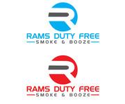 Rams Duty Free + Smoke & Booze Logo - Entry #154