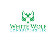 White Wolf Consulting (optional LLC) Logo - Entry #441