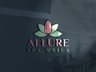 Allure Spa Nails Logo - Entry #53