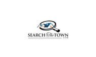 search the town .com     or     djsheil.com Logo - Entry #103