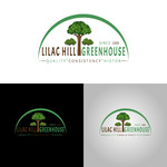 Lilac Hill Greenhouse Logo - Entry #59