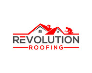 Revolution Roofing Logo - Entry #485