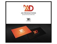 Corporate Logo Design 'AD Productions & Management' - Entry #108