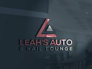 Leah's auto & nail lounge Logo - Entry #81