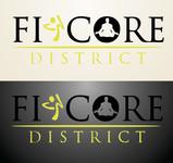 FitCore District Logo - Entry #3