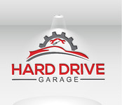 Hard drive garage Logo - Entry #107