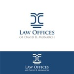 Law Offices of David R. Monarch Logo - Entry #68