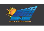 SNS Solar Solutions Logo - Entry #69