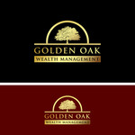Golden Oak Wealth Management Logo - Entry #150