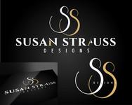 Susan Strauss Design Logo - Entry #137