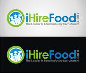 iHireFood.com Logo - Entry #90