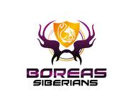 Siberian Husky Logo - Entry #147