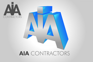 AIA CONTRACTORS Logo - Entry #129