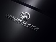 Elite Construction Services or ECS Logo - Entry #142
