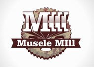 Muscle MIll Logo - Entry #4