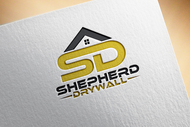 Shepherd Drywall Logo - Entry #88
