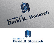 Law Offices of David R. Monarch Logo - Entry #10