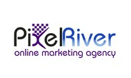 Pixel River Logo - Online Marketing Agency - Entry #163