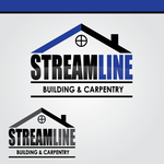 STREAMLINE building & carpentry Logo - Entry #13