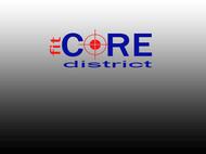 FitCore District Logo - Entry #16