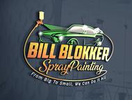 Bill Blokker Spraypainting Logo - Entry #178