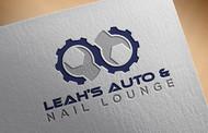 Leah's auto & nail lounge Logo - Entry #140