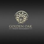 Golden Oak Wealth Management Logo - Entry #168