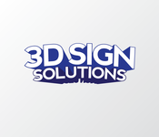 3D Sign Solutions Logo - Entry #73