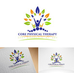 Core Physical Therapy and Sports Performance Logo - Entry #129