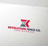 Revolution Fence Co. Logo - Entry #187