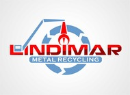 Lindimar Metal Recycling Logo - Entry #296