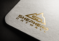 Shepherd Drywall Logo - Entry #245