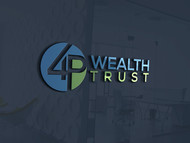 4P Wealth Trust Logo - Entry #156