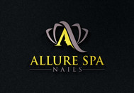 Allure Spa Nails Logo - Entry #158