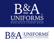 B&A Uniforms Logo - Entry #100