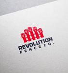 Revolution Fence Co. Logo - Entry #15