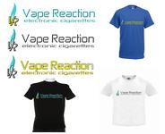 Vape Reaction Logo - Entry #58