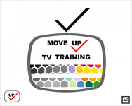 Move Up TV Training  Logo - Entry #43